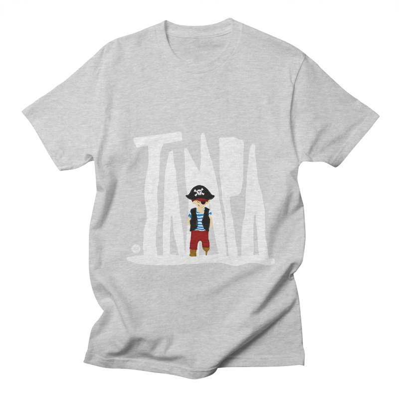 The Tampa Pirate Men's Regular T-Shirt by thatssotampa's Artist Shop