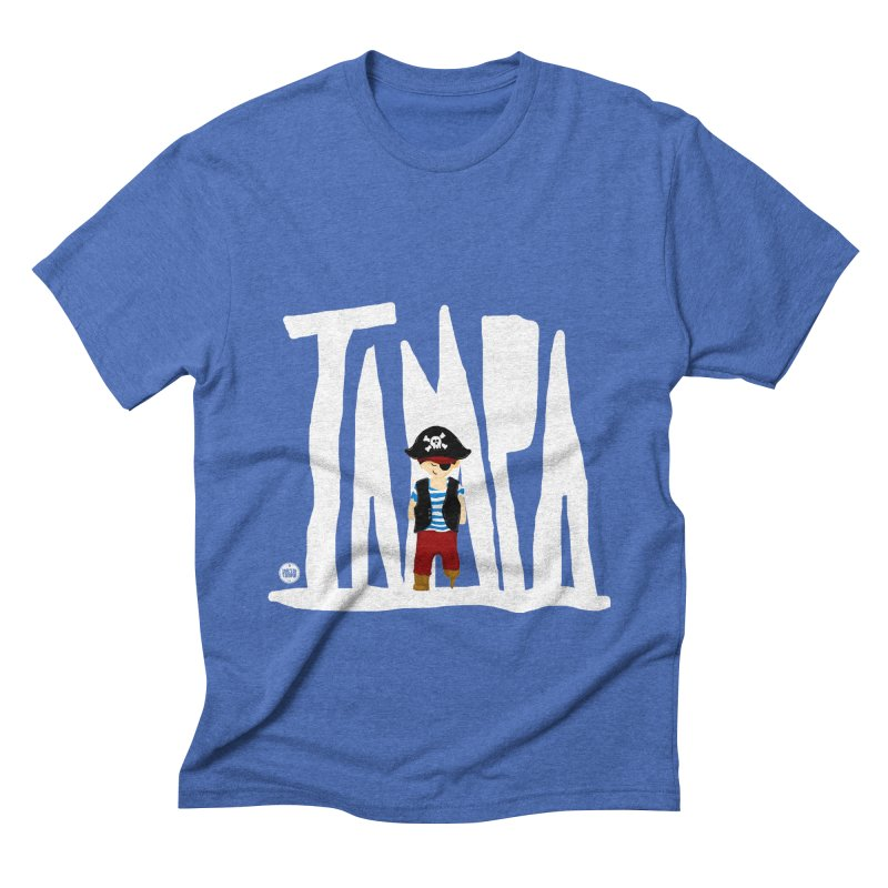 The Tampa Pirate Men's T-Shirt by thatssotampa's Artist Shop