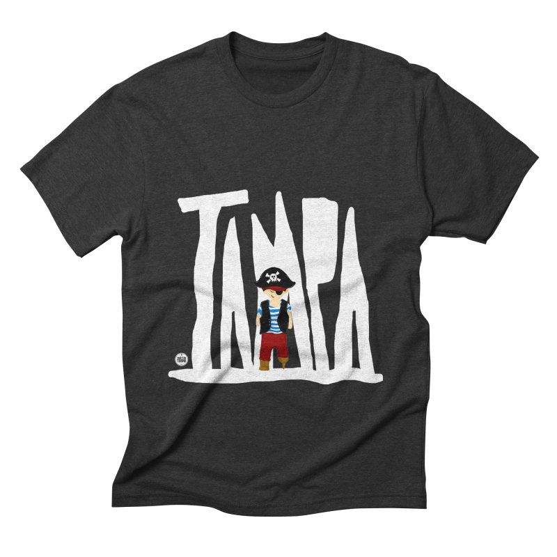 The Tampa Pirate Men's Triblend T-Shirt by thatssotampa's Artist Shop