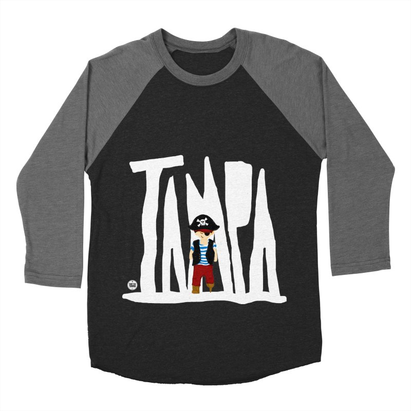 The Tampa Pirate Women's Baseball Triblend T-Shirt by thatssotampa's Artist Shop