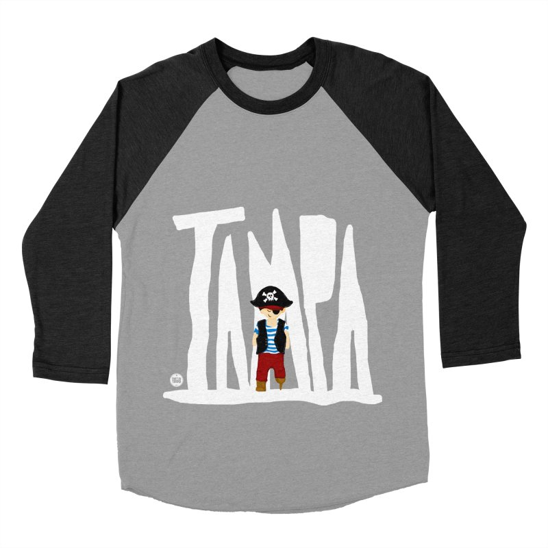 The Tampa Pirate Men's Baseball Triblend Longsleeve T-Shirt by thatssotampa's Artist Shop
