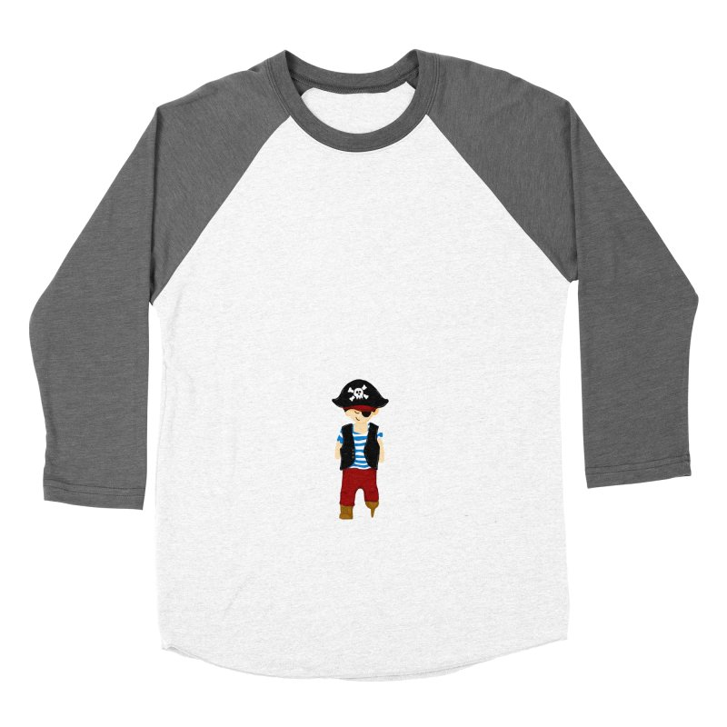 The Tampa Pirate Men's Baseball Triblend T-Shirt by thatssotampa's Artist Shop