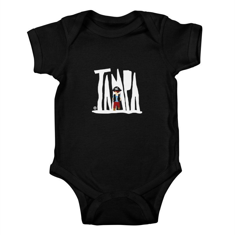 The Tampa Pirate Kids Baby Bodysuit by thatssotampa's Artist Shop