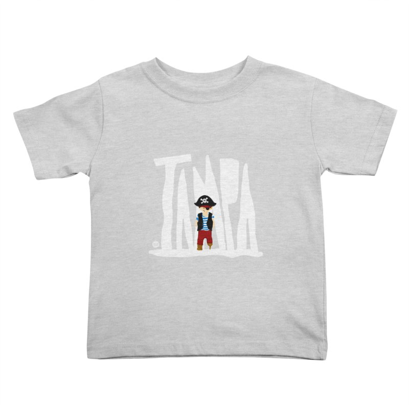 The Tampa Pirate Kids Toddler T-Shirt by thatssotampa's Artist Shop