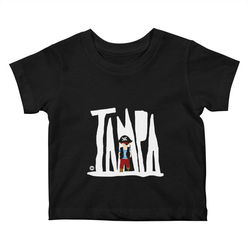 The Tampa Pirate Kids Baby T-Shirt by thatssotampa's Artist Shop