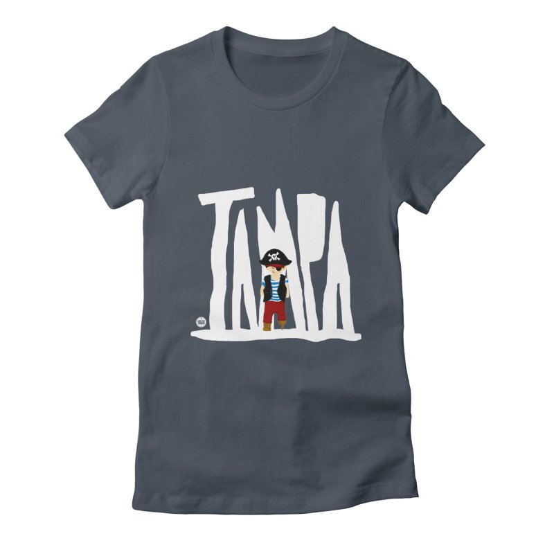 The Tampa Pirate Women's T-Shirt by thatssotampa's Artist Shop