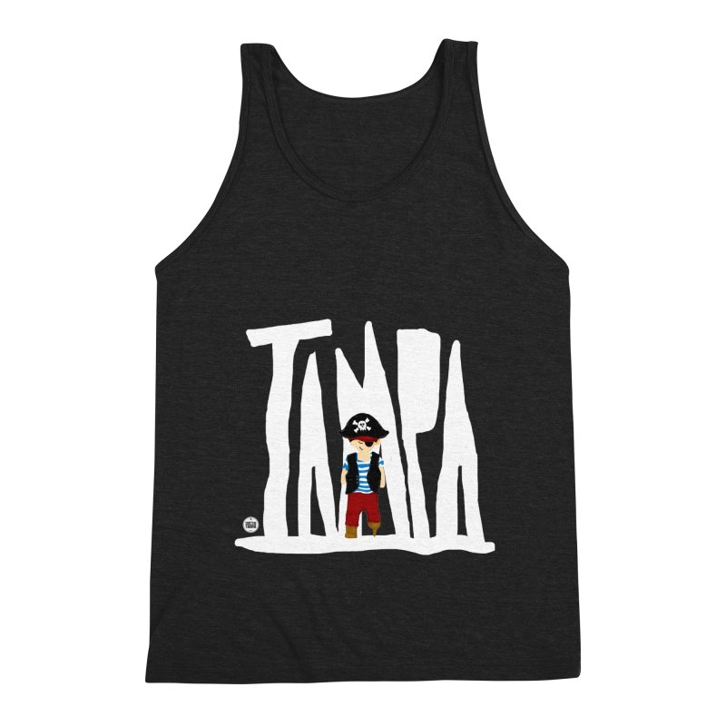 The Tampa Pirate Men's Triblend Tank by thatssotampa's Artist Shop