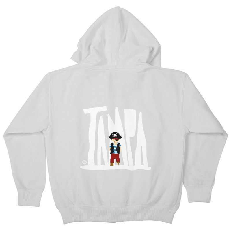 The Tampa Pirate Kids Zip-Up Hoody by thatssotampa's Artist Shop