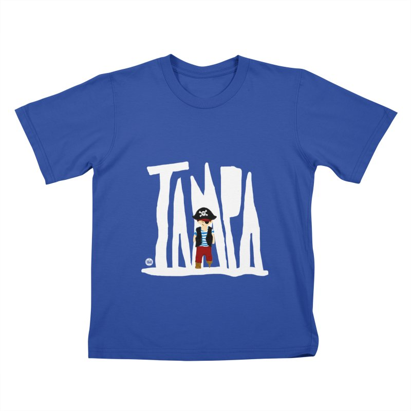 The Tampa Pirate Kids T-Shirt by thatssotampa's Artist Shop