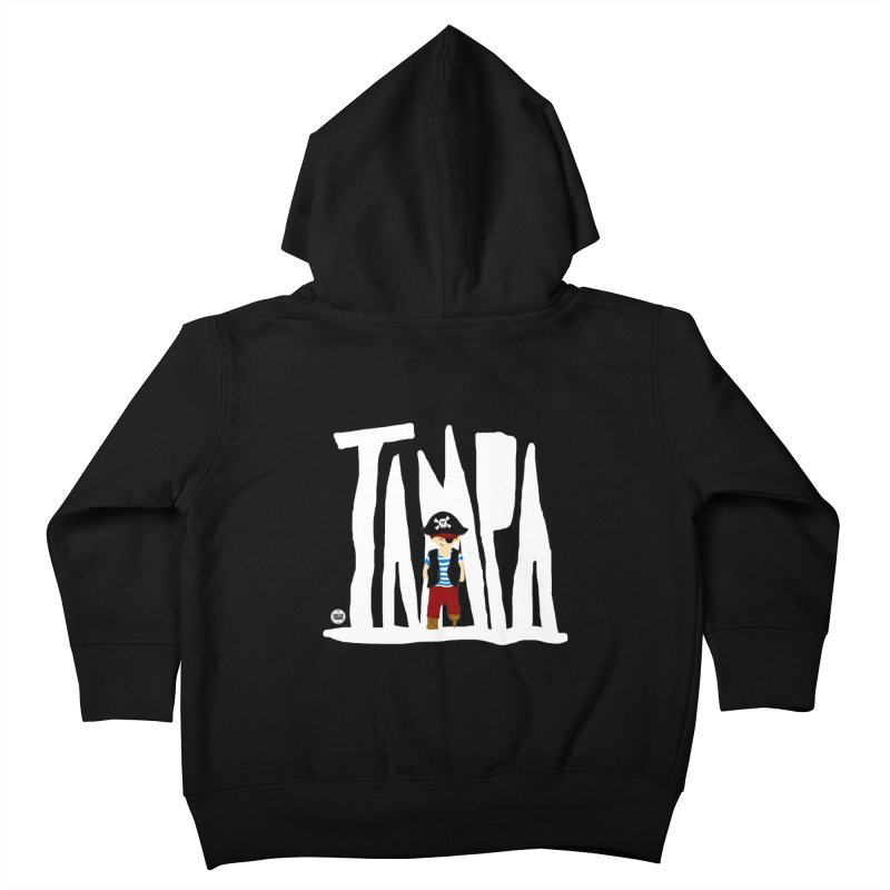 The Tampa Pirate Kids Toddler Zip-Up Hoody by thatssotampa's Artist Shop