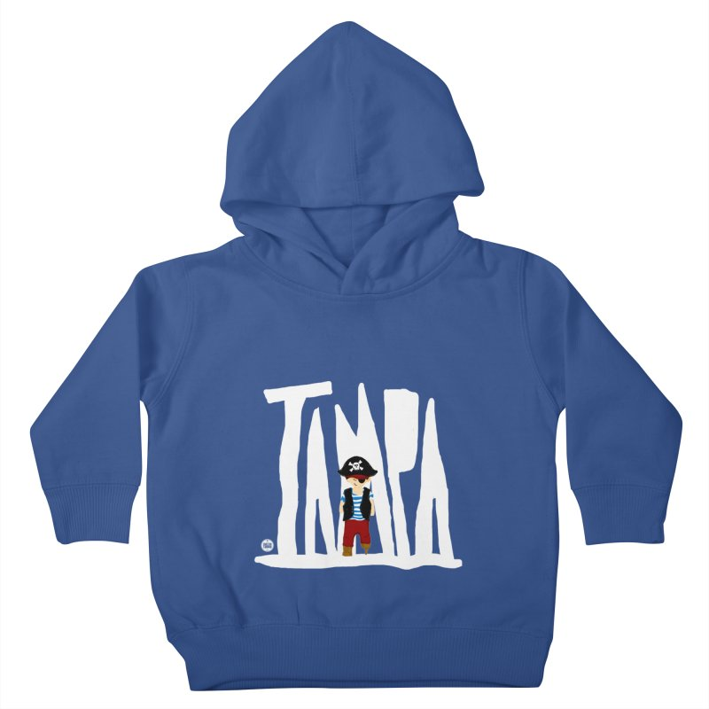 The Tampa Pirate Kids Toddler Pullover Hoody by thatssotampa's Artist Shop