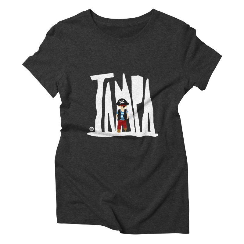 The Tampa Pirate Women's Triblend T-Shirt by thatssotampa's Artist Shop