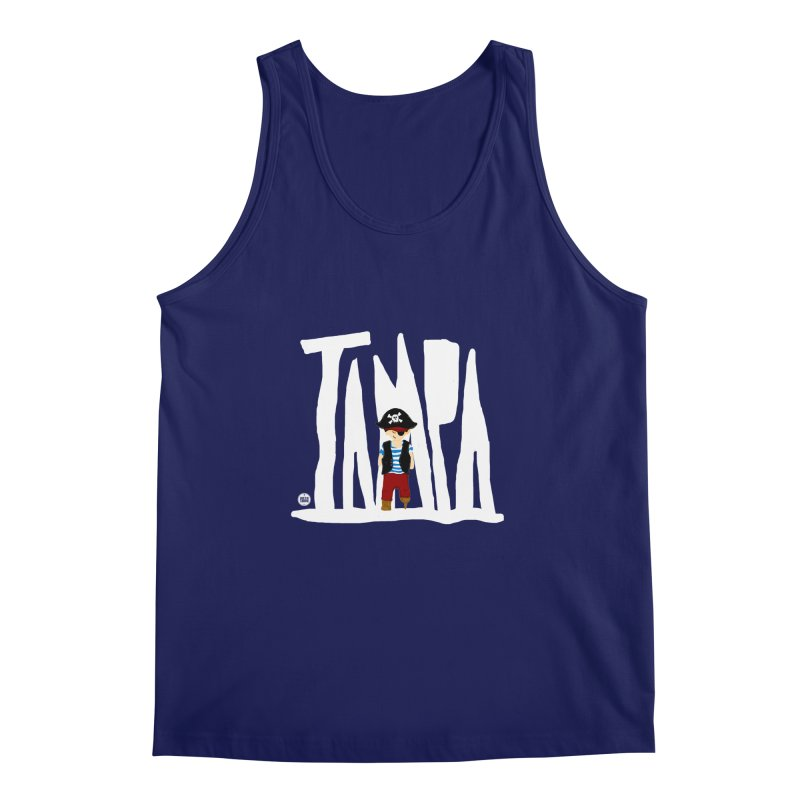 The Tampa Pirate Men's Tank by thatssotampa's Artist Shop