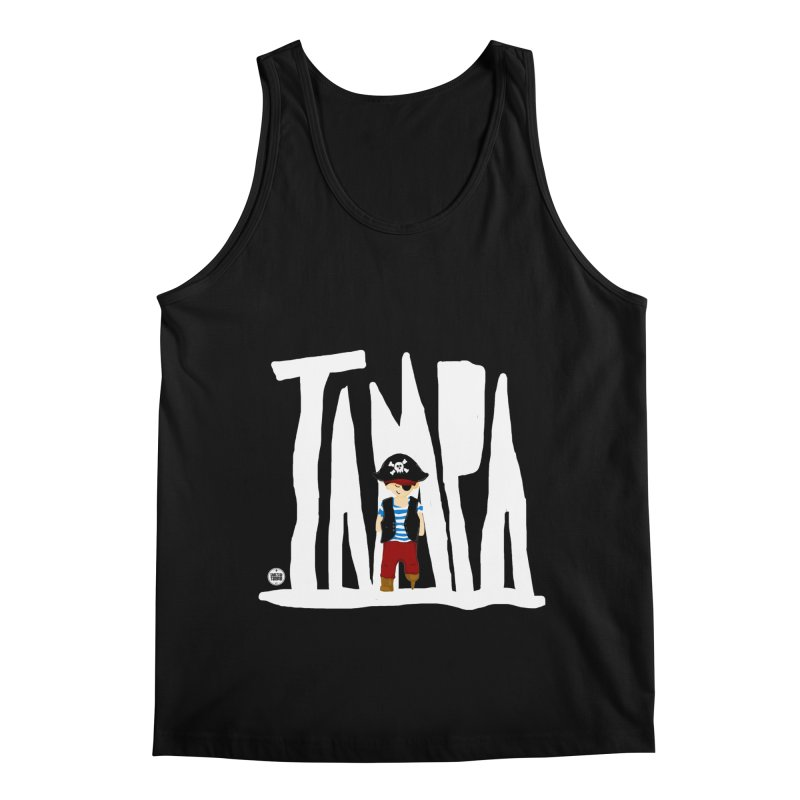 The Tampa Pirate Men's Regular Tank by thatssotampa's Artist Shop