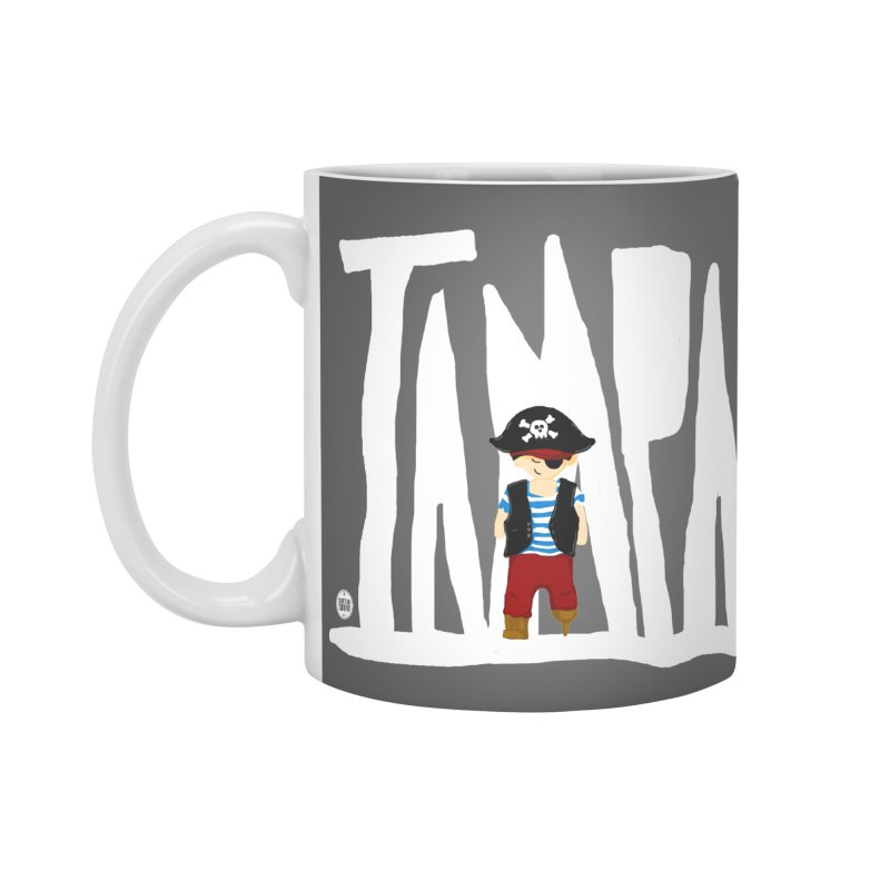 The Tampa Pirate Accessories Mug by thatssotampa's Artist Shop