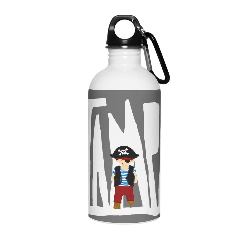 The Tampa Pirate Accessories Water Bottle by thatssotampa's Artist Shop