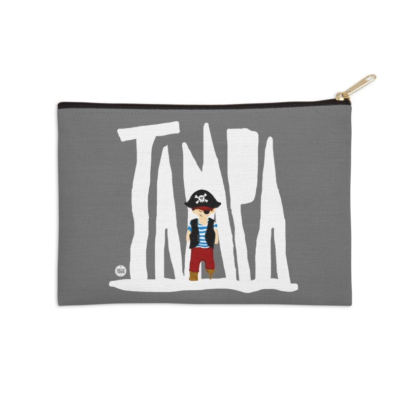The Tampa Pirate Accessories Zip Pouch by thatssotampa's Artist Shop
