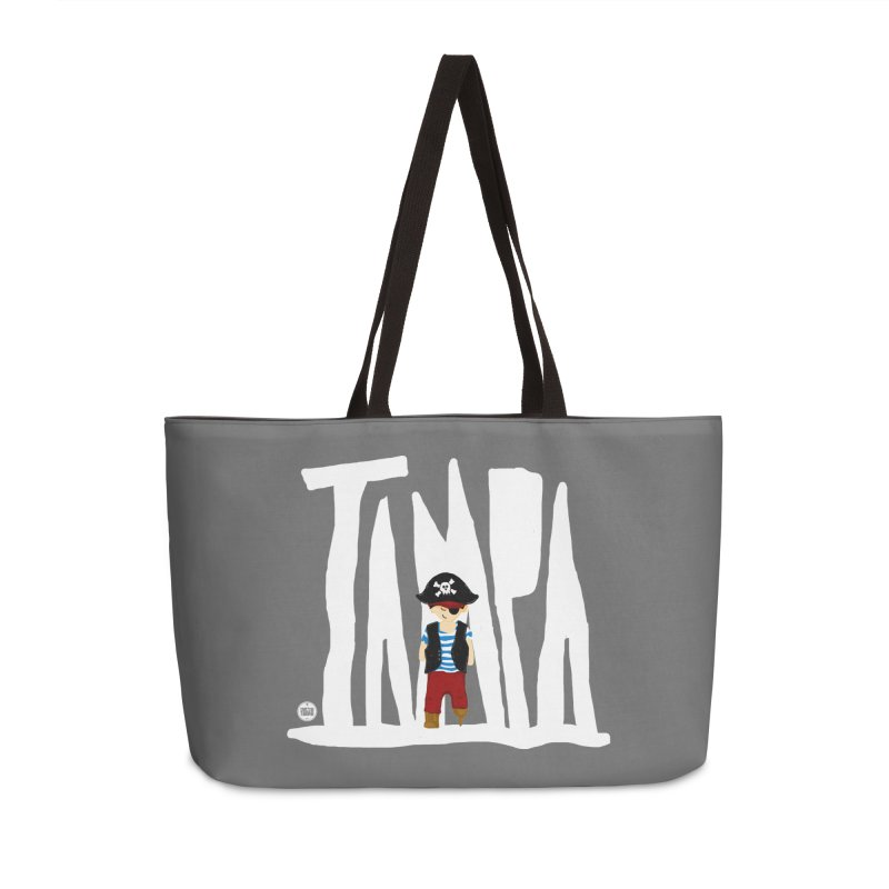 The Tampa Pirate Accessories Weekender Bag Bag by thatssotampa's Artist Shop