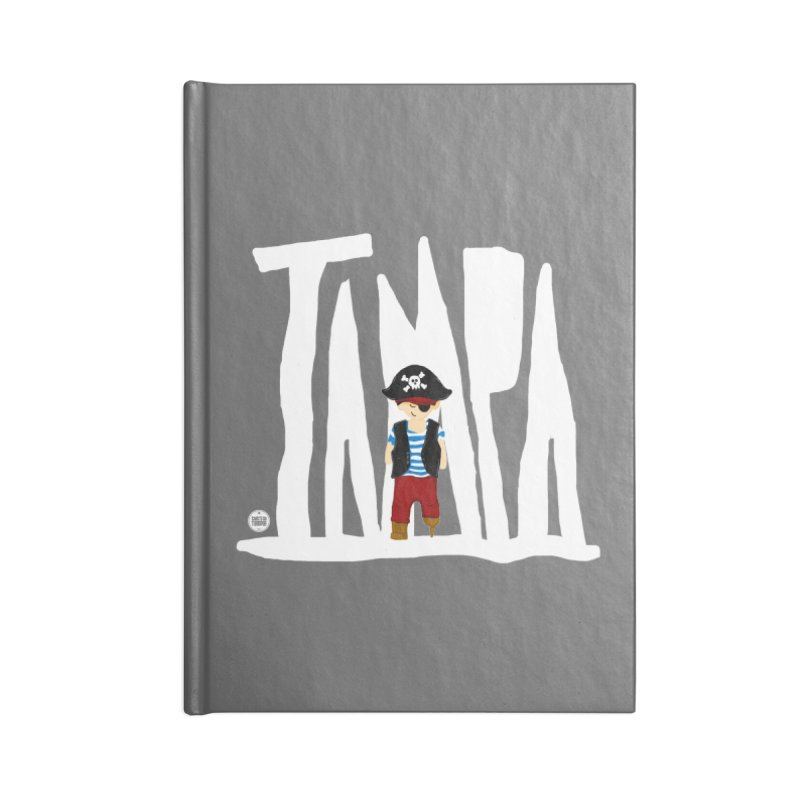 The Tampa Pirate Accessories Lined Journal Notebook by thatssotampa's Artist Shop