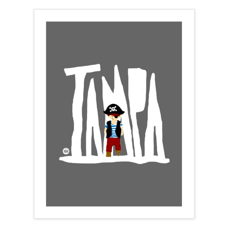 The Tampa Pirate Home Fine Art Print by thatssotampa's Artist Shop