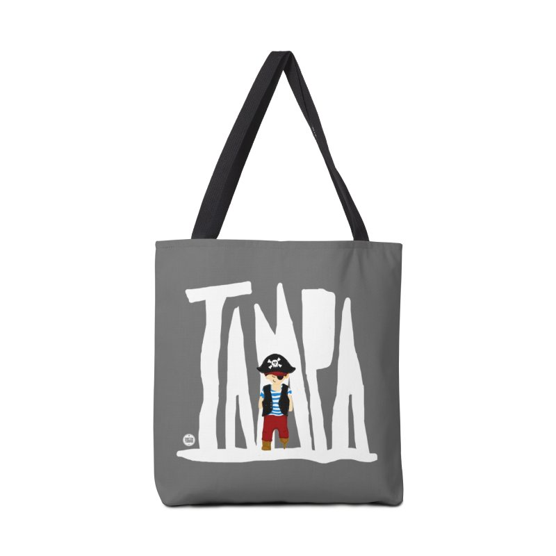 The Tampa Pirate Accessories Tote Bag Bag by thatssotampa's Artist Shop