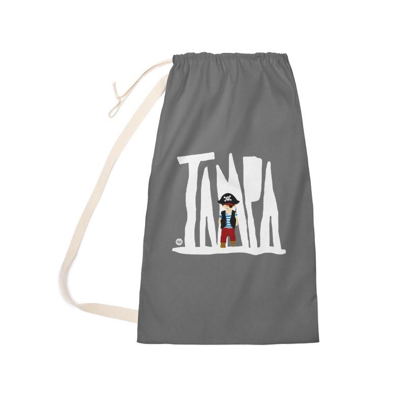 The Tampa Pirate Accessories Laundry Bag Bag by thatssotampa's Artist Shop
