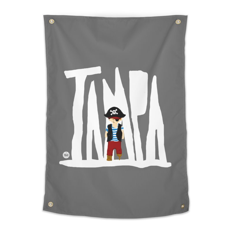 The Tampa Pirate Home Tapestry by thatssotampa's Artist Shop