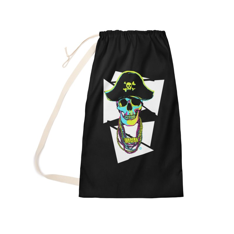 PARTY PIRATE! Accessories Laundry Bag Bag by thatssotampa's Artist Shop
