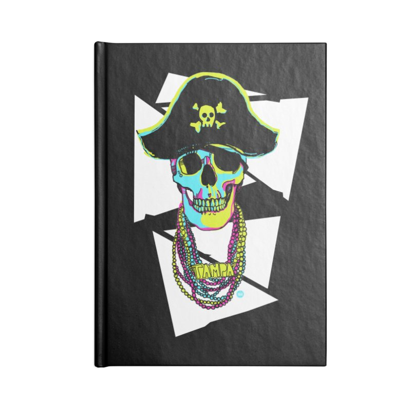 PARTY PIRATE! Accessories Blank Journal Notebook by thatssotampa's Artist Shop