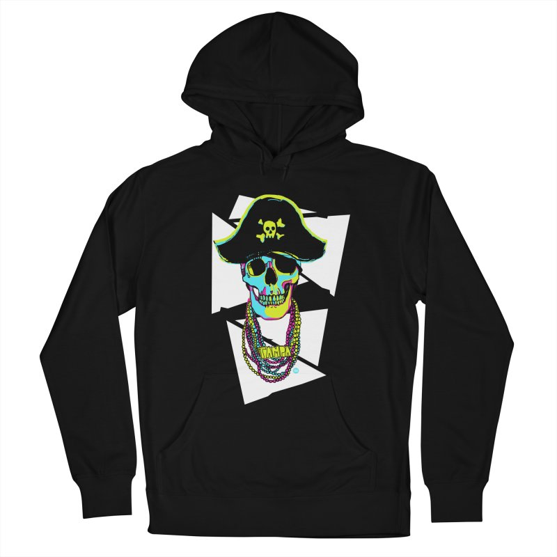 PARTY PIRATE! Women's French Terry Pullover Hoody by thatssotampa's Artist Shop