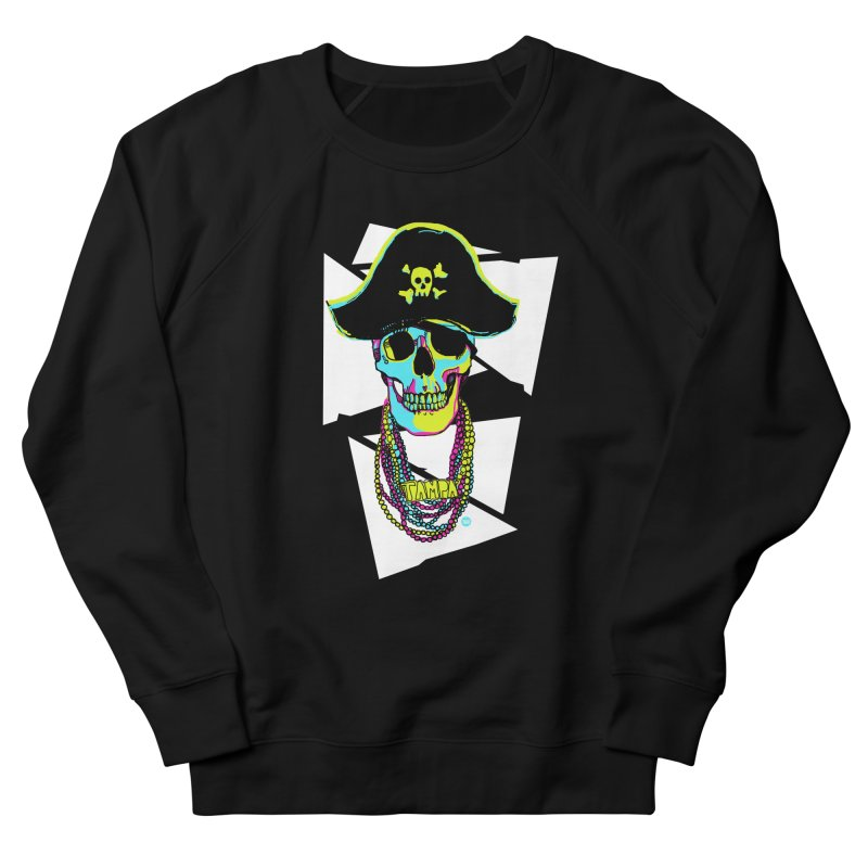 PARTY PIRATE! Men's French Terry Sweatshirt by thatssotampa's Artist Shop