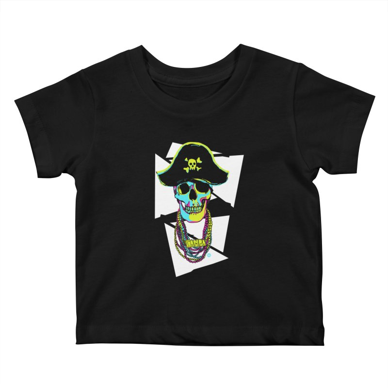 PARTY PIRATE! Kids Baby T-Shirt by thatssotampa's Artist Shop
