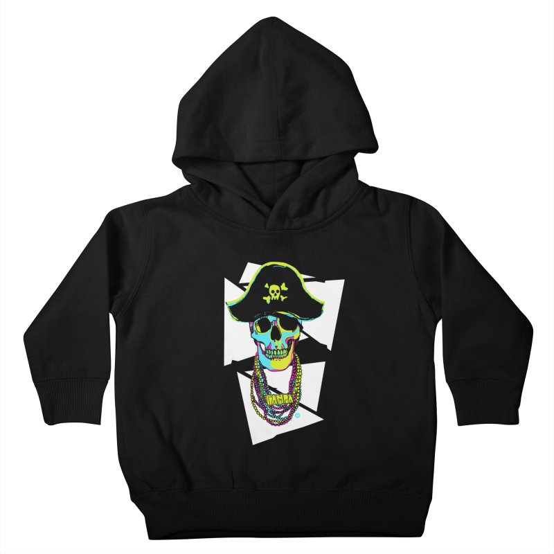 PARTY PIRATE! Kids Toddler Pullover Hoody by thatssotampa's Artist Shop
