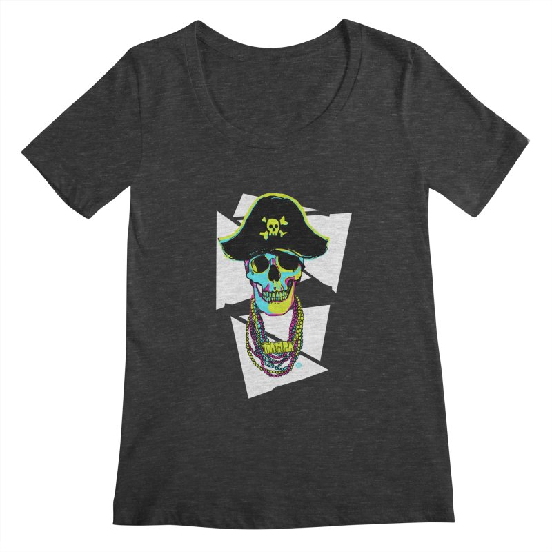 PARTY PIRATE! Women's Scoopneck by thatssotampa's Artist Shop