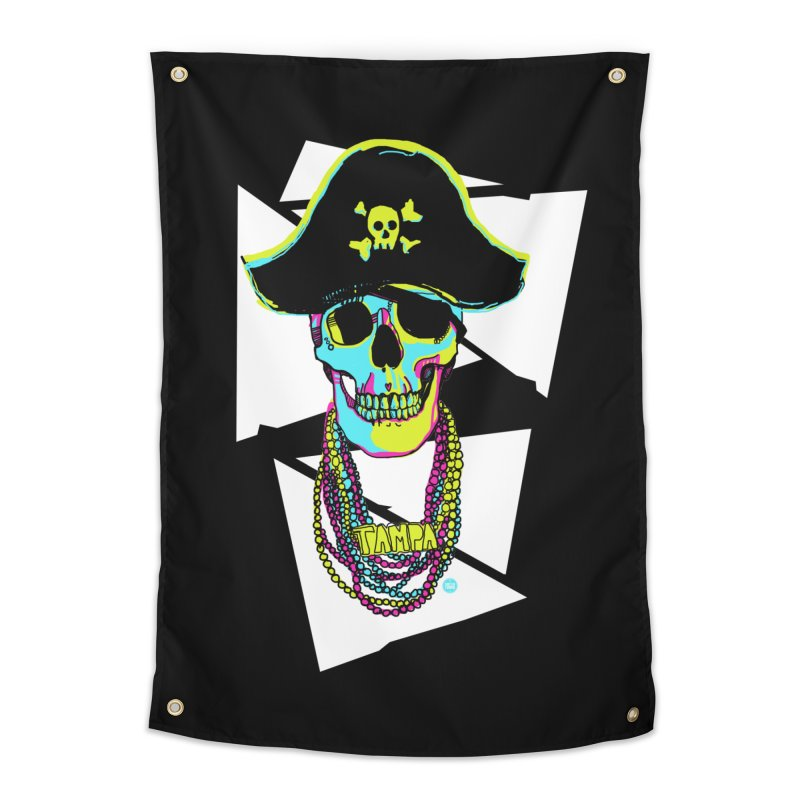 PARTY PIRATE! Home Tapestry by thatssotampa's Artist Shop