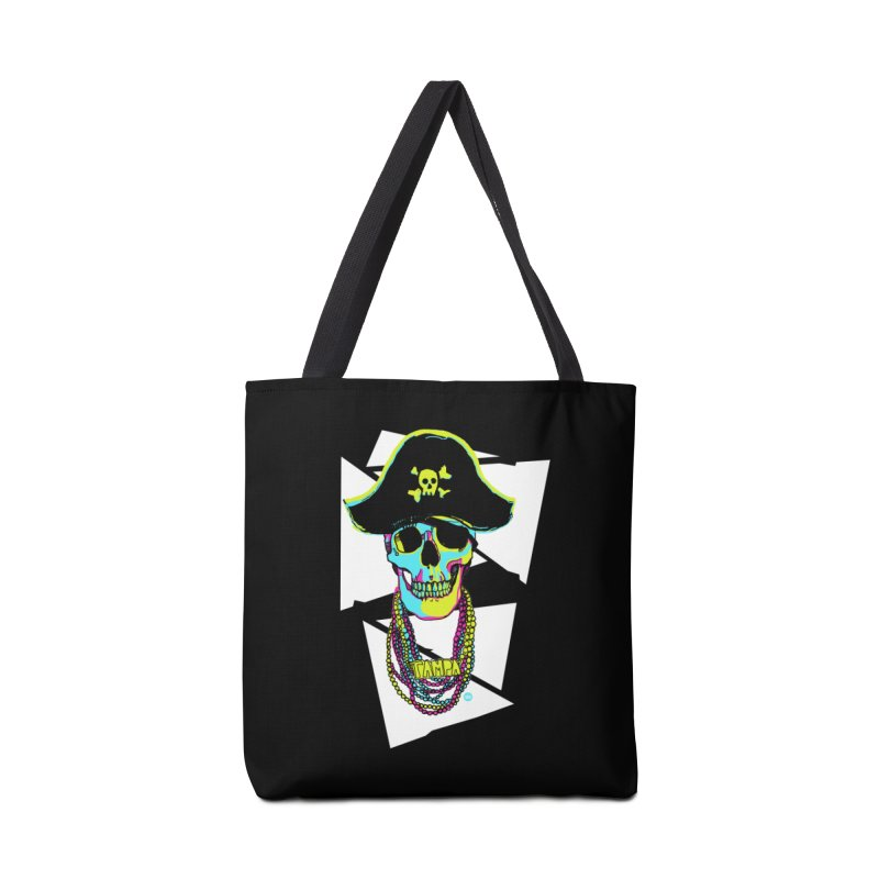 PARTY PIRATE! Accessories Bag by thatssotampa's Artist Shop