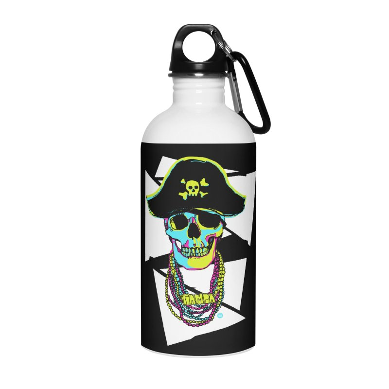 PARTY PIRATE! Accessories Water Bottle by thatssotampa's Artist Shop