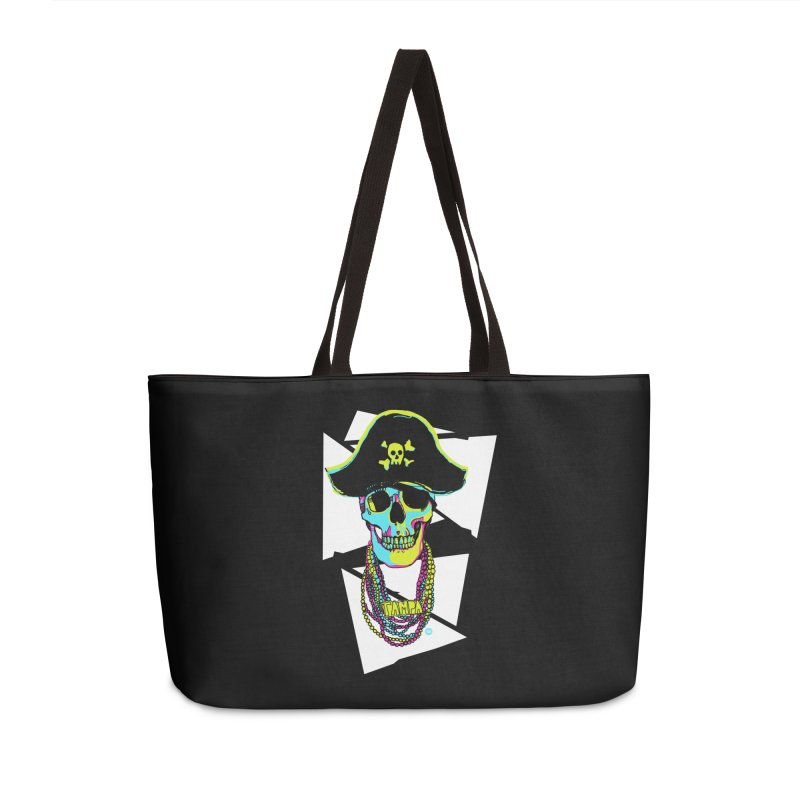 PARTY PIRATE! Accessories Weekender Bag Bag by thatssotampa's Artist Shop