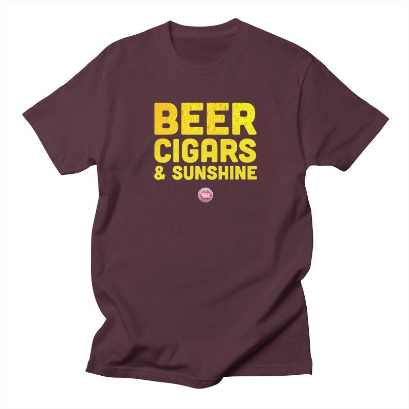 Beer, Cigars & Sunshine Men's T-Shirt by thatssotampa's Artist Shop