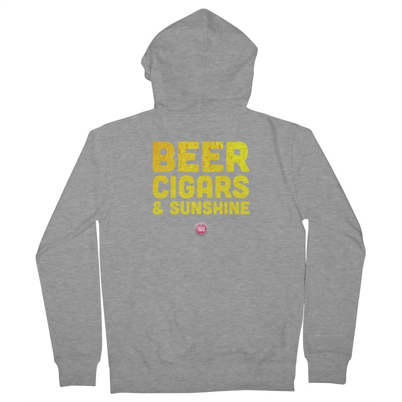 Beer, Cigars & Sunshine Men's Zip-Up Hoody by thatssotampa's Artist Shop