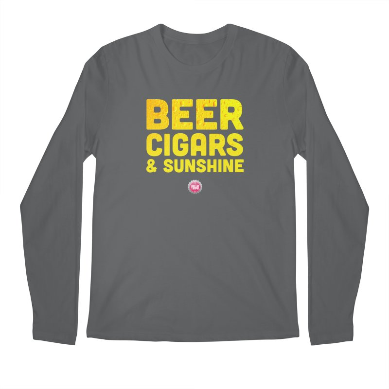 Beer, Cigars & Sunshine Men's Regular Longsleeve T-Shirt by thatssotampa's Artist Shop