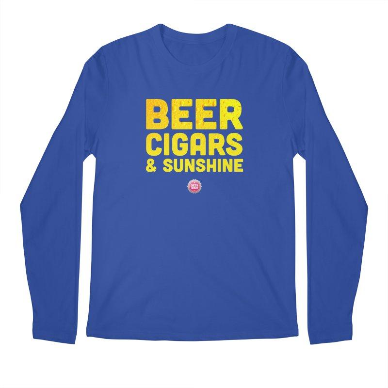Beer, Cigars & Sunshine Men's Regular Longsleeve T-Shirt by thatssotampa's Artist Shop