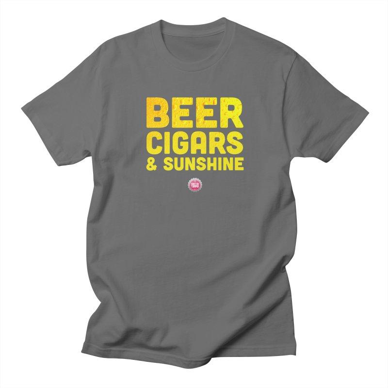 Beer, Cigars & Sunshine Men's Lounge Pants by thatssotampa's Artist Shop