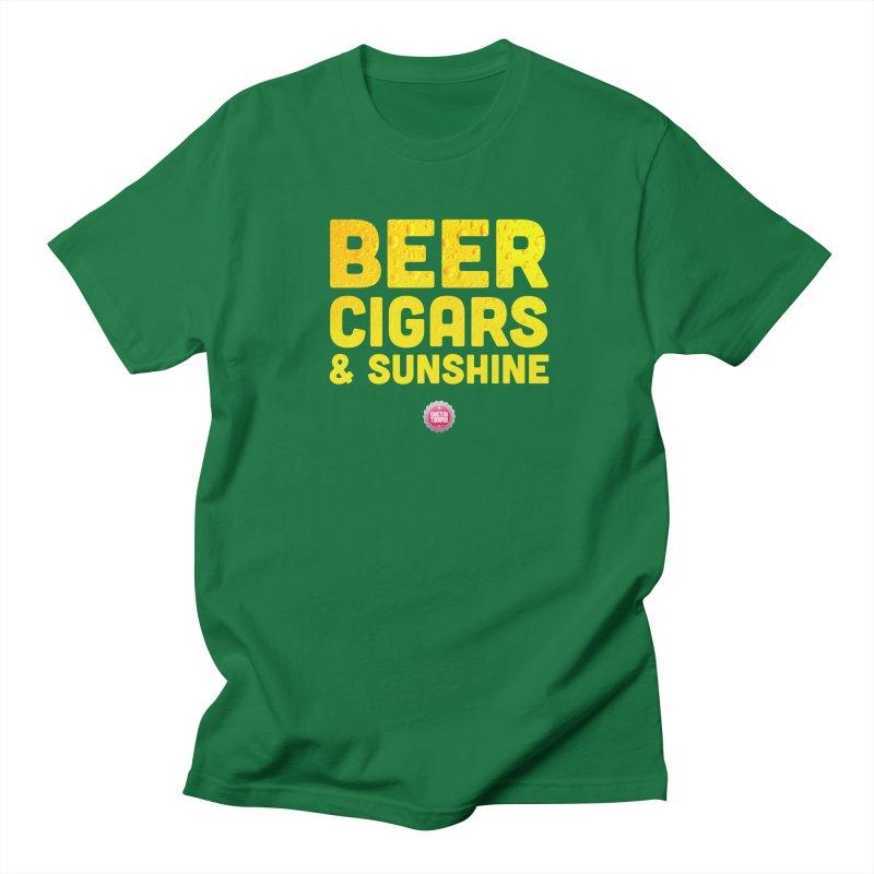 Beer, Cigars & Sunshine Women's Regular Unisex T-Shirt by thatssotampa's Artist Shop