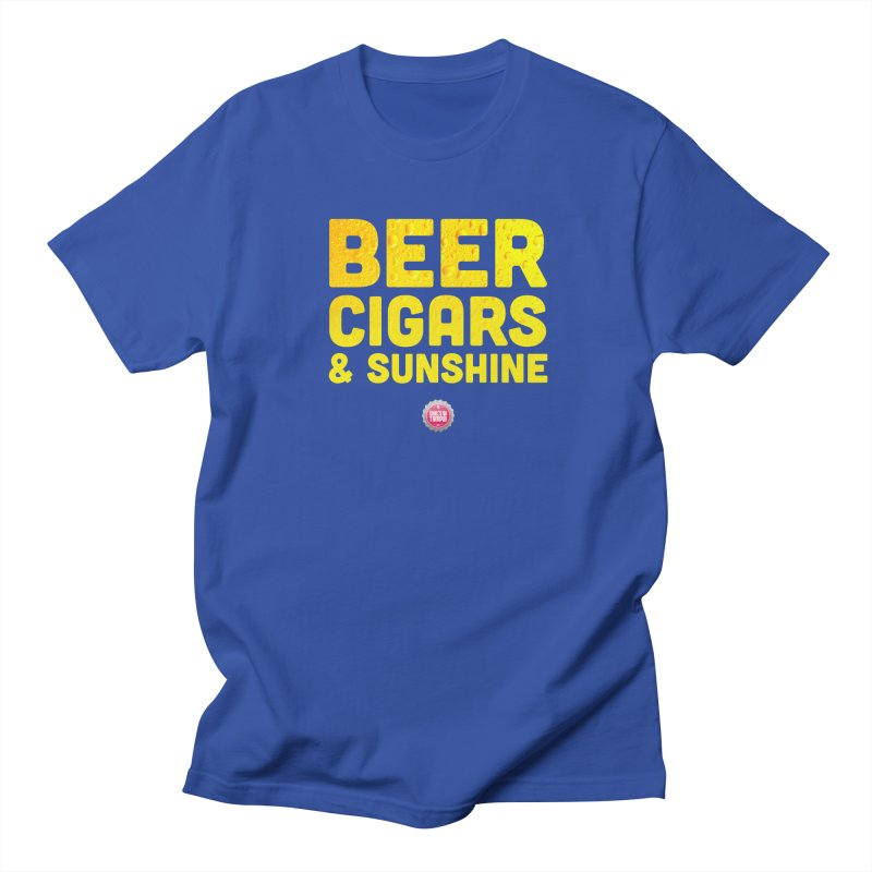 Beer, Cigars & Sunshine Women's Regular Unisex T-Shirt by thatssotampa's Artist Shop