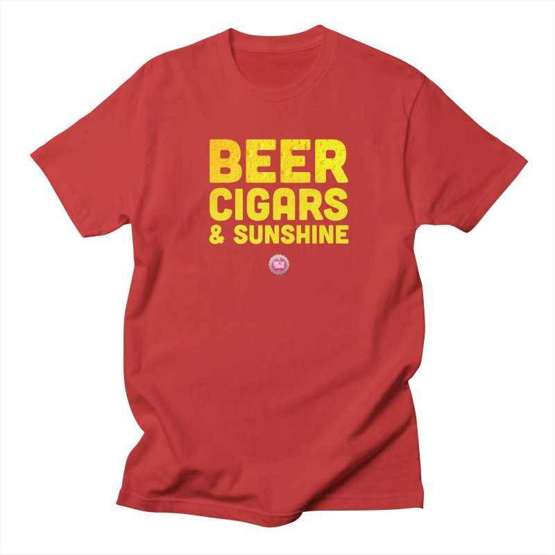 Beer, Cigars & Sunshine Men's Regular T-Shirt by thatssotampa's Artist Shop