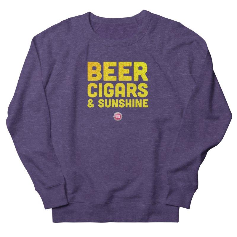 Beer, Cigars & Sunshine Men's Sweatshirt by thatssotampa's Artist Shop