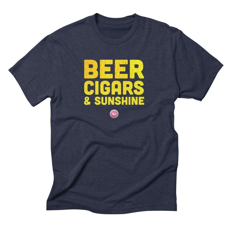 Beer, Cigars & Sunshine Men's Triblend T-Shirt by thatssotampa's Artist Shop