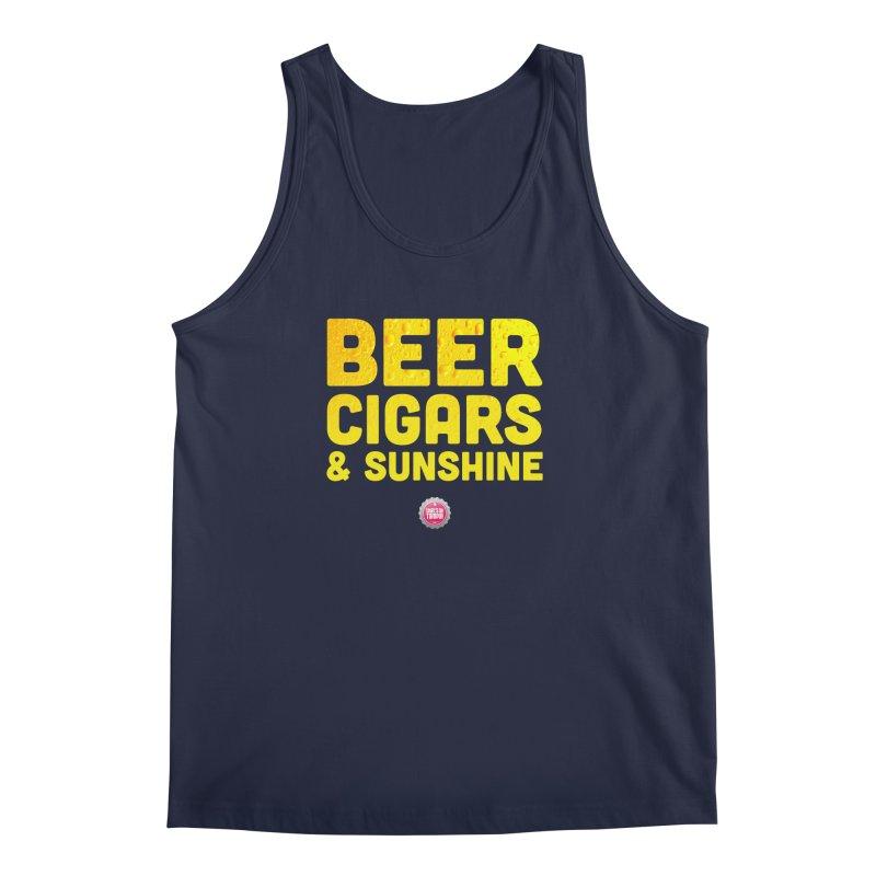 Beer, Cigars & Sunshine Men's Regular Tank by thatssotampa's Artist Shop