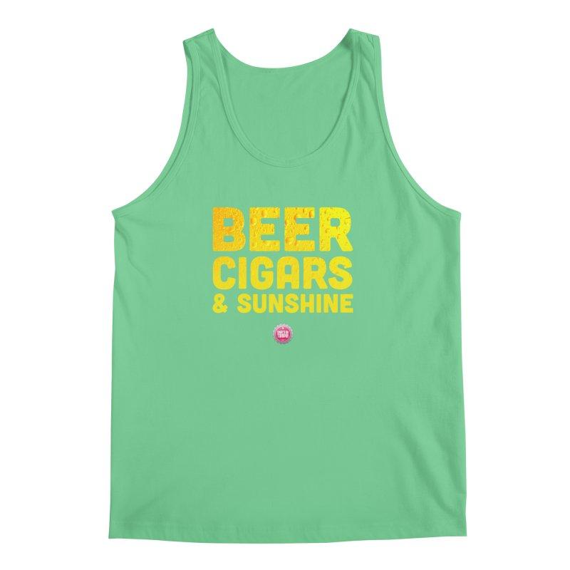Beer, Cigars & Sunshine Men's Tank by thatssotampa's Artist Shop